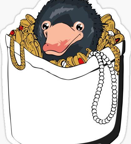 Niffler in Pocket Sticker
