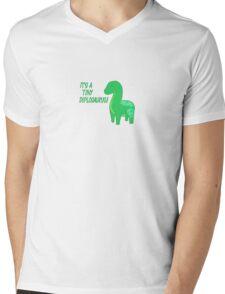 It's a tiny diplosaurus Mens V-Neck T-Shirt