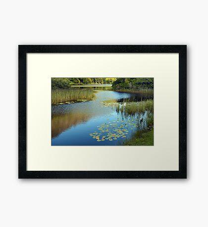 Tranquil Ireland. Framed Print