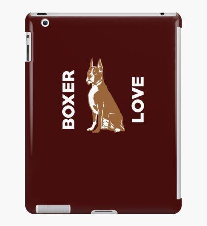 Boxer Love Cute Dog  iPad Case/Skin