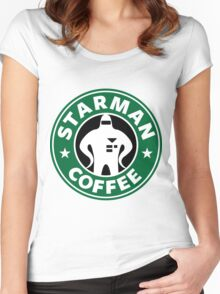 Starman Coffee Women's Fitted Scoop T-Shirt