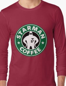 Starman Coffee Long Sleeve T-Shirt