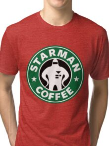 Starman Coffee Tri-blend T-Shirt