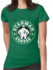 Starman Coffee Womens Fitted T-Shirt