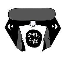 Skate Face Photographic Print