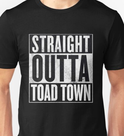 Super Mario - Straight Outta Toad Town Unisex T-Shirt