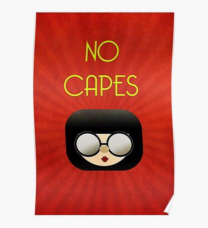 No Capes Poster