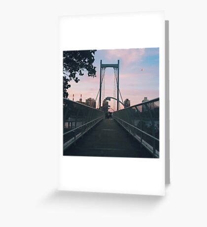 Brighter on the other side Greeting Card