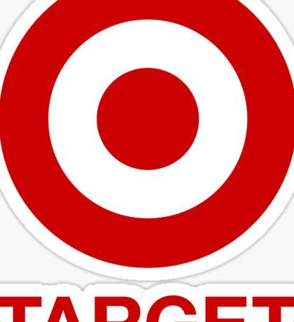 i love target  Sticker