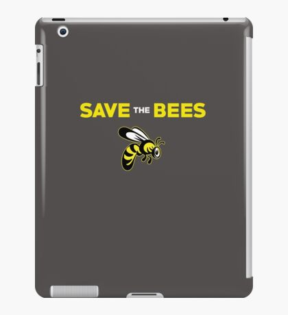 Save The Bees Cute Insect  iPad Case/Skin