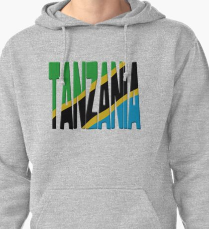 Tanzania flag Pullover Hoodie