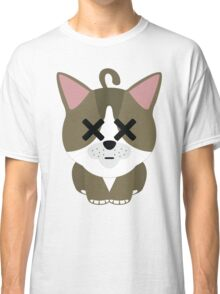 American Short Hair Cat Emoji Faint and Knock Out Face Classic T-Shirt
