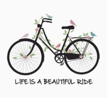 Life is a beautiful ride Kids Clothes