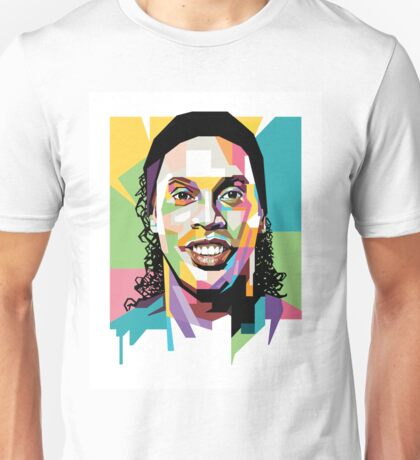 Ronaldinho Pop Art Unisex T-Shirt