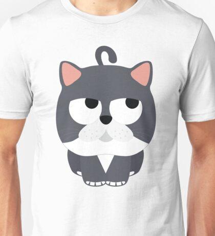 Exotic Cat Emoji Think Hard and Hmm Look Unisex T-Shirt
