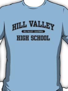 Hill Valley High School (Black) T-Shirt