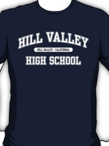Hill Valley High School (White) T-Shirt