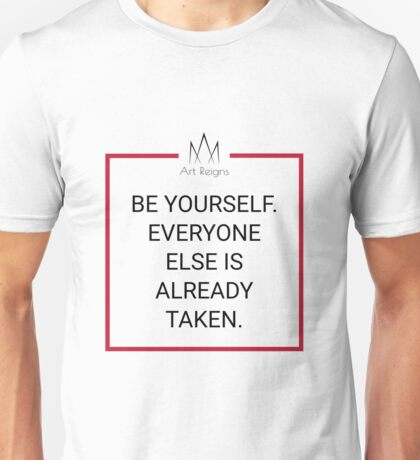 Target Thoughts - Yourself Unisex T-Shirt