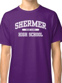 Shermer High School (White) Classic T-Shirt