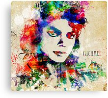 Michael Jackson The Man in the Mirror Canvas Print