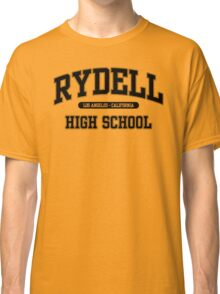Rydell High School (Black) Classic T-Shirt