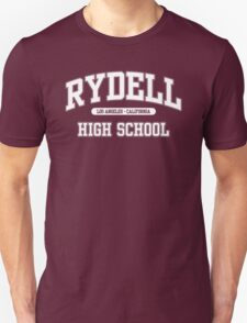 Rydell High School (White) Unisex T-Shirt