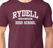 Rydell High School (White) Unisex T-Shirt