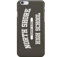 North Shore High School (White) iPhone Case/Skin