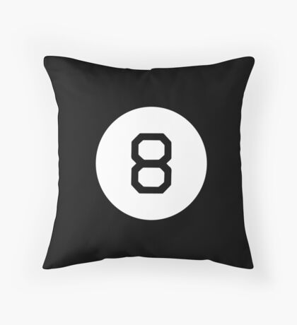 Magicball 8 | Magic Ball Toy Fortune Telling | Future Print Throw Pillow