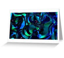 Spacetime Flow II Greeting Card
