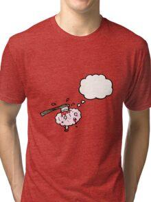 migraine cartoon Tri-blend T-Shirt