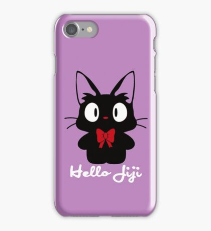 Hello Jiji iPhone Case/Skin