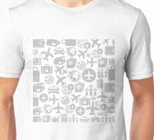 Aircraft a background Unisex T-Shirt