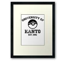 University of Kanto Framed Print