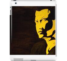 Steven Seagal - A look could kill iPad Case/Skin