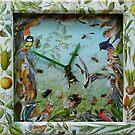 Summer Collage Clock. by nawroski .