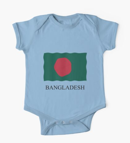 Bangladesh flag One Piece - Short Sleeve