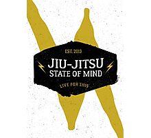 Jiu-jitsu state of mind I Photographic Print