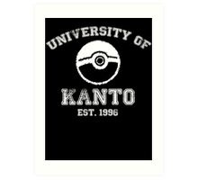 University of Kanto Art Print