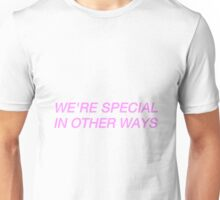 WE'RE SPECIAL IN OTHER WAYS // BUILT TO SPILL Unisex T-Shirt