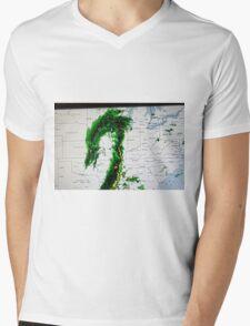 Monster Weather Mens V-Neck T-Shirt