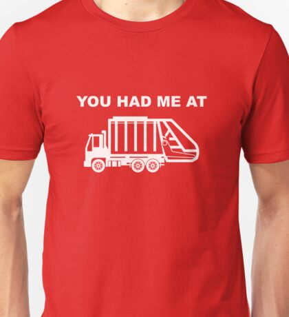 Garbage Truck Funny  Unisex T-Shirt