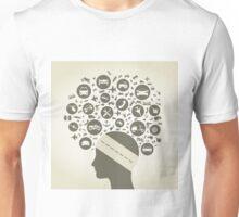 Head the car Unisex T-Shirt