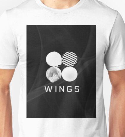 Wings BTS (Black) Unisex T-Shirt