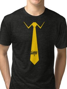 Lupin Central - Necktie Tri-blend T-Shirt