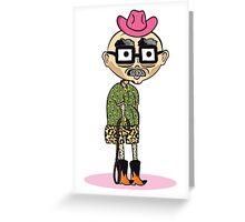 Fashion Sheriff  Greeting Card