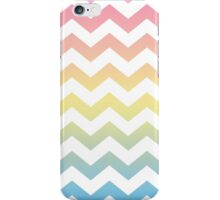 Chevron Rainbow Waves iPhone Case/Skin