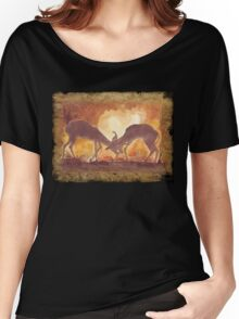 Territorial Dance in the African sunset Women's Relaxed Fit T-Shirt