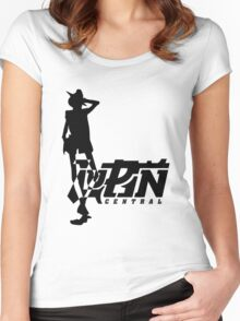 Gunman Simple Women's Fitted Scoop T-Shirt