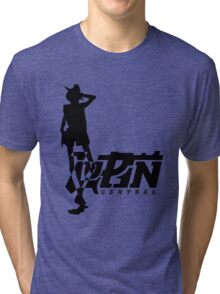 Gunman Simple Tri-blend T-Shirt